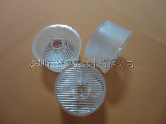 "Lente 21mm Listras CREE-XPE Led À Prova D Água 8*45 e 75 Graus de Lentes LED, Lente XP-G2 R5 Lente, ""3535"" Lente"