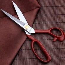 Ciseaux de tailleur artisanal 9-12 pouces   En Zigzag chaud pour coupe-fil, outils de couture et de broderie, ciseaux en tissu pour coudre E