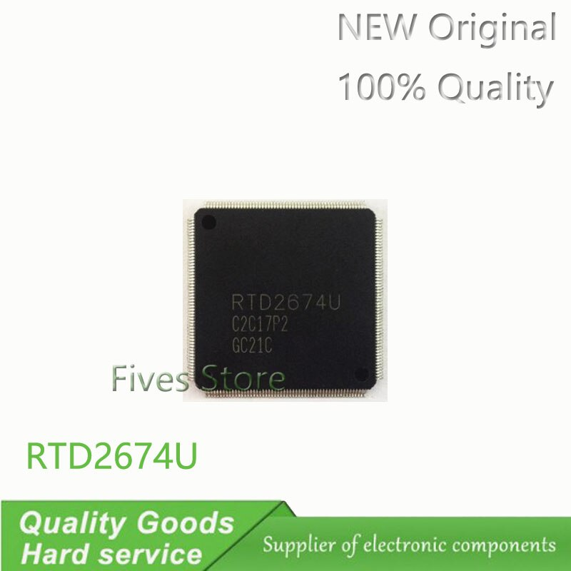 1 piezas, RTD2674U-GR RTD2674U QFP RTD2674, nueva original