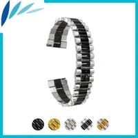 stainless steel watch band 18mm 20mm 22mm for oris quick release watchband strap wrist loop belt bracelet black silver gold