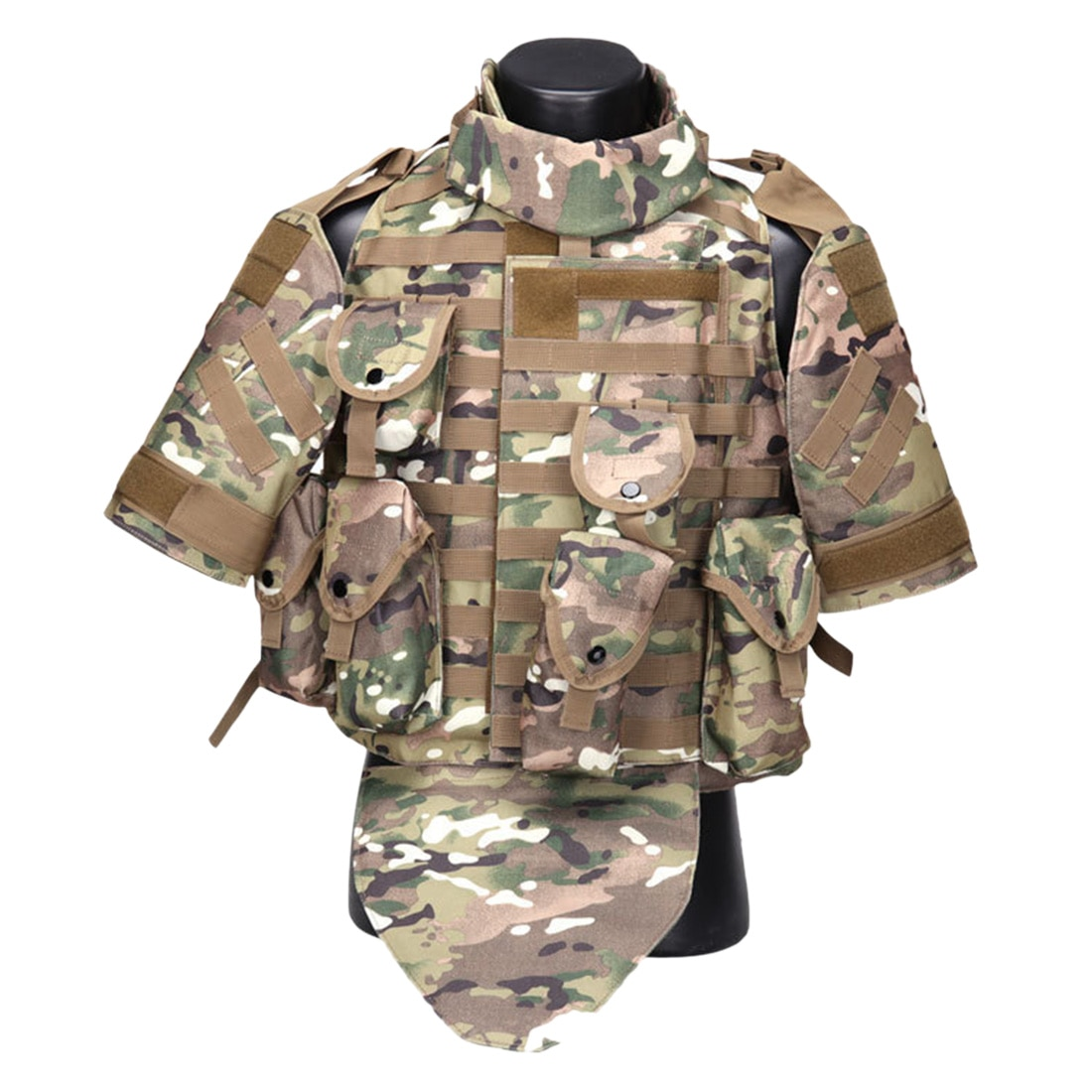 Loup esclaves Phantom Interceptor tactique darmure corporelle OTV modulaire-CP/Olive Drab/Camouflage Jungle/Tan/ACU/noir