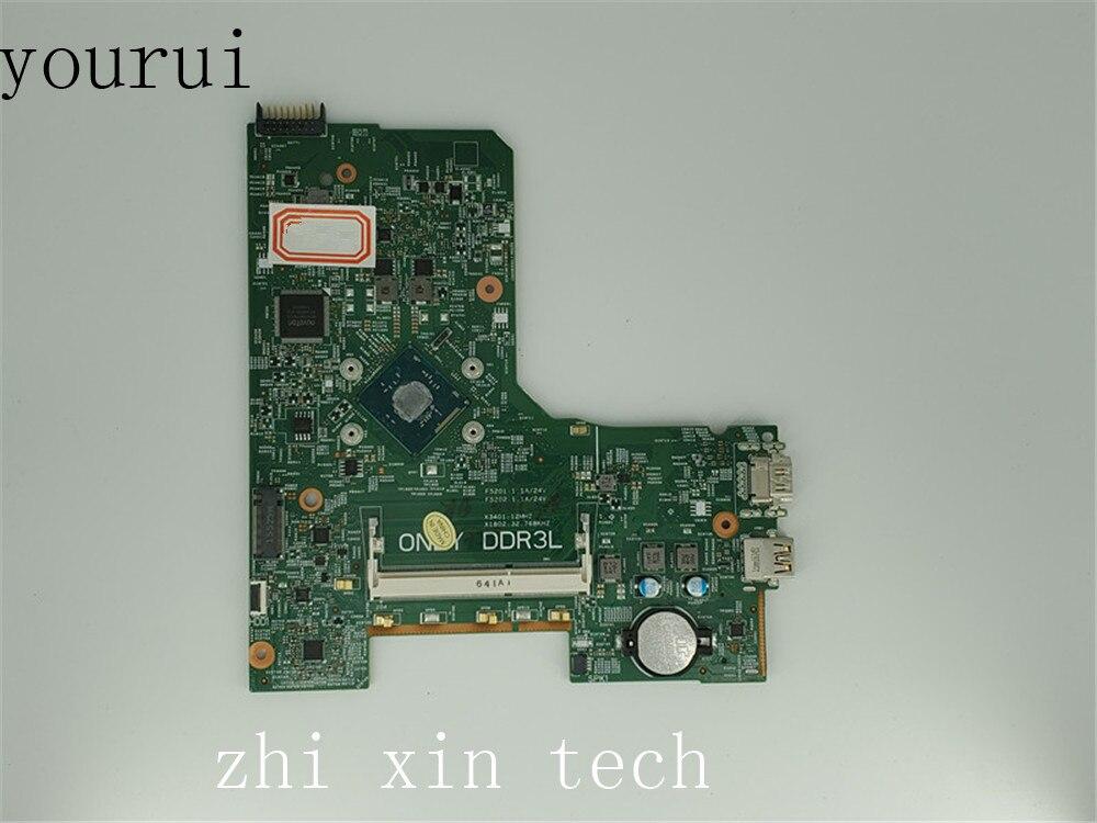 Yourui pour Dell inspiron 3451 3552 carte mère dordinateur portable avec N3540 CPU CN-0W216V 0W216V W216V DDR3 Test travail parfait