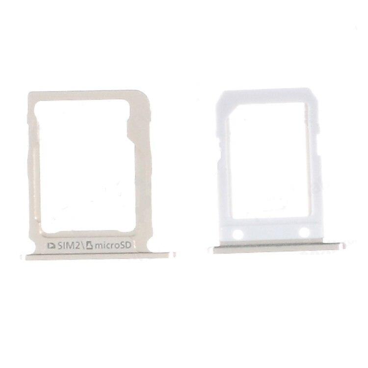 Для Samsung Galaxy A8 SM-A800 A8000 A800F черный/золотой цвет SIM1 и MicroSD SIM2 лоток для карт