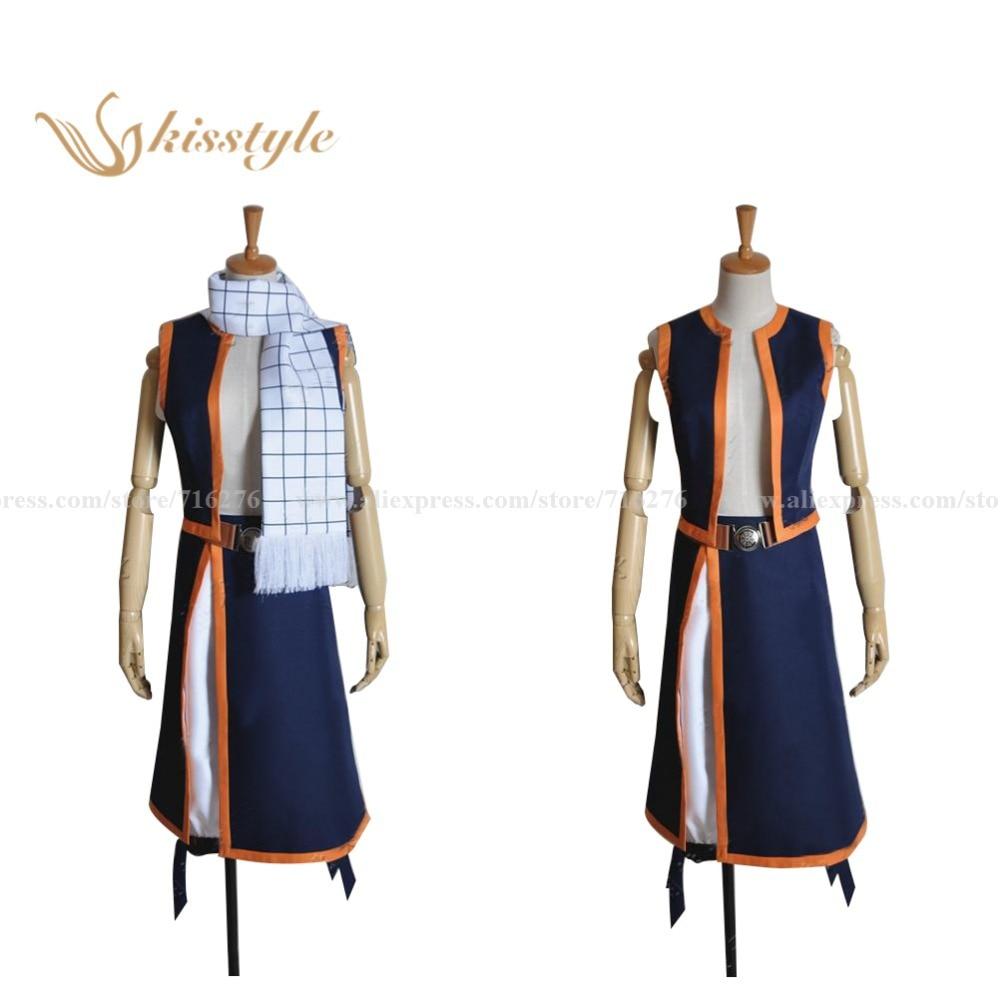 Kisstyle moda fairy tail natsu dragneel cosplay traje, cusomized aceito