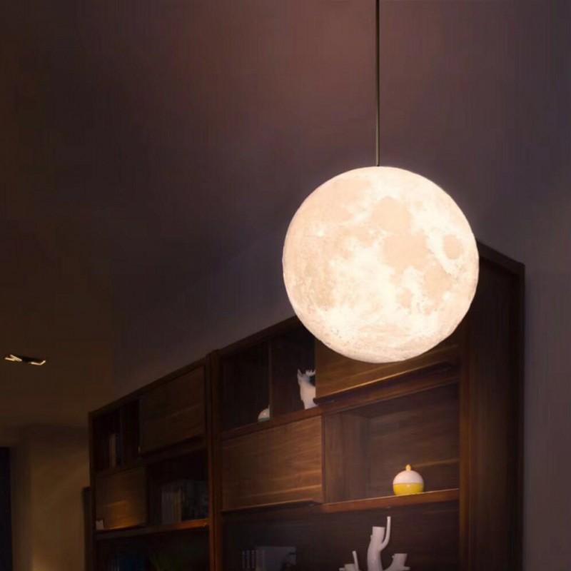 16 видов цветов Светодиодная лампа для Луны, перезаряжаемая декоративная лампа с 3D принтом, светодиодная лампа для Луны, подвесной потолок, л...