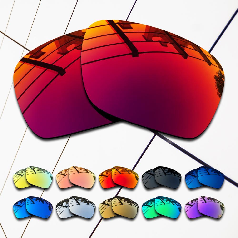 Lentes de repuesto polarizados de venta al por mayor, eo.s, para gafas de sol de turbina Oakley, colores variados