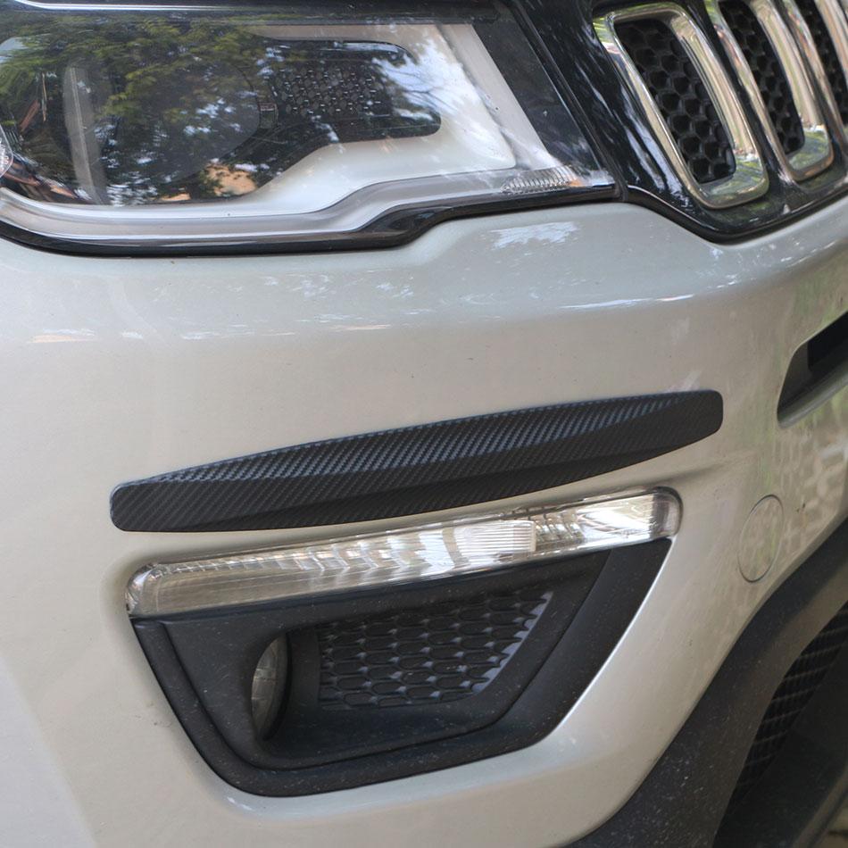 Zlord, Protector de parachoques de coche, tiras antiarañazos para Opel Astra H Astra J G Mokka Insignia Corsa, accesorios