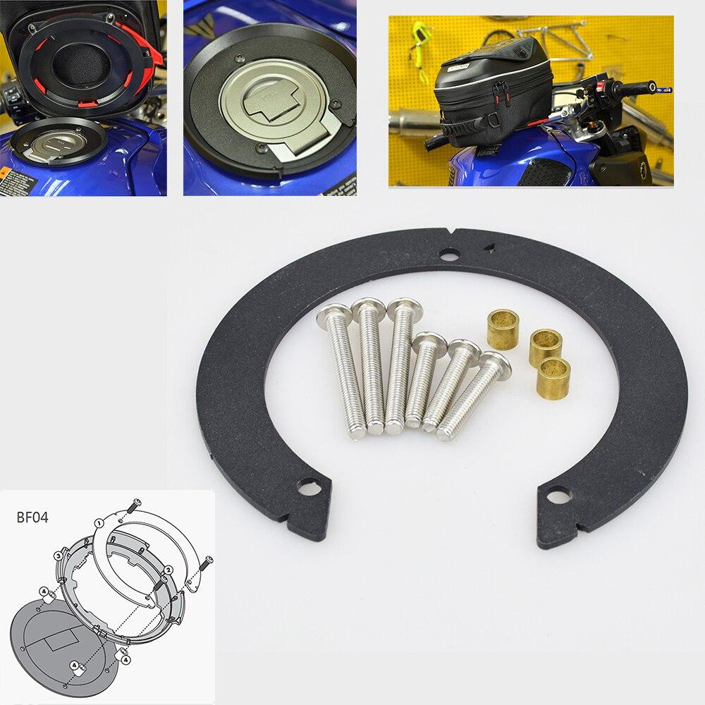 Easy Lock Tankring / Tank adapter BF04 for Kawasaki Z800 / Versys 1000 / Z1000 / Z 1000 SX / ER-6N /ER-6F 650 / Z750 etc GIF