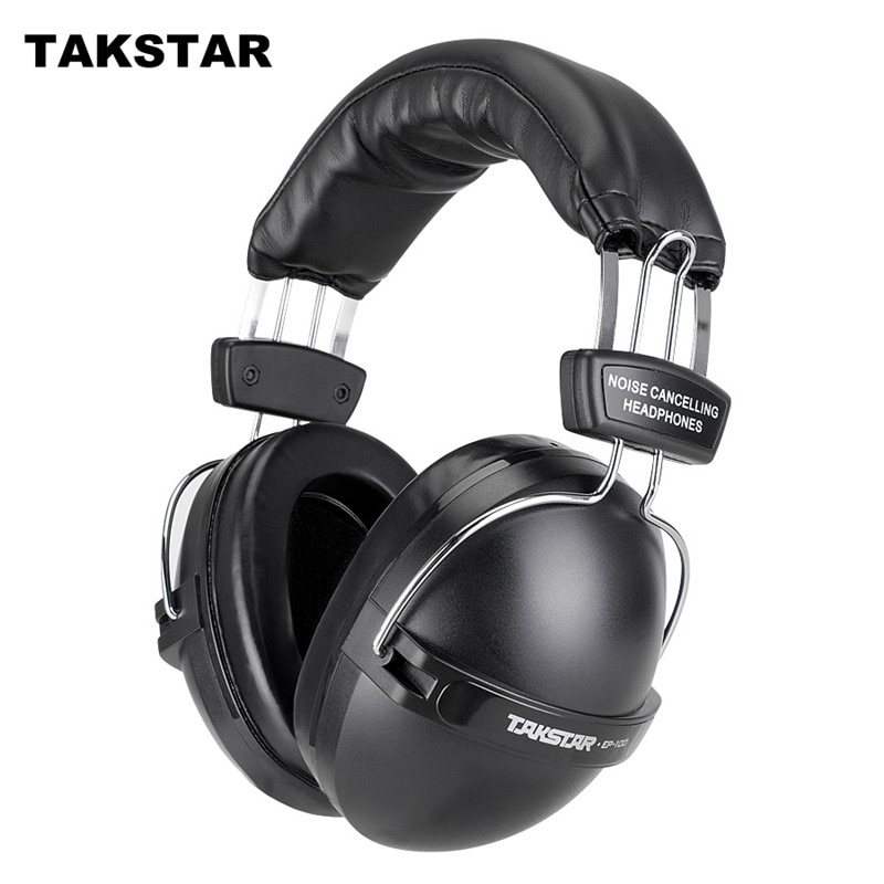 Takstar original EP100 auriculares con cancelación de ruido auriculares anti ruido auriculares proteger para disparar fábricas aeropuerto