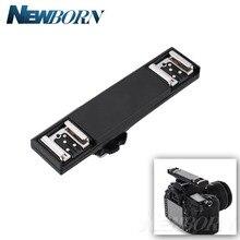 Двойной кронштейн для вспышки Speedlite с поддержкой TTL и шнуром для Nikon D3200 D5200 D5300 D7000 D7100 D7200 D800 D90 DSLR