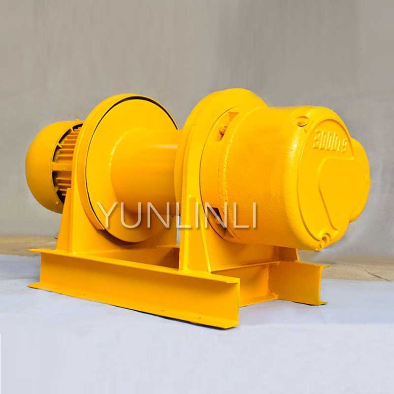 380V Electric Hoist Multi-function Hoist Electric Wire Rope Winch Customized With 1T/2T/3T/5T Heavy Lifting Device enlarge