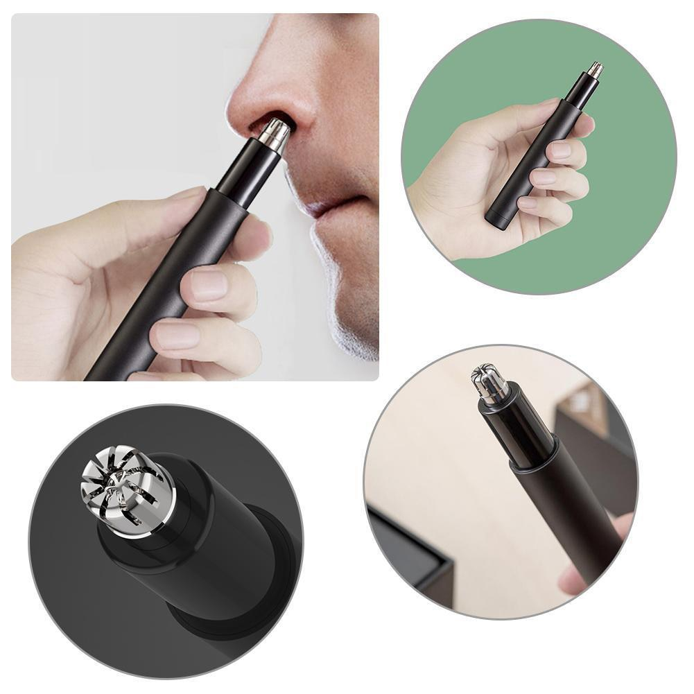 Mini Afeitadora eléctrica para nariz, herramienta limpiadora segura impermeable MH88