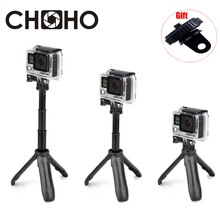 Selfie Stick Self Handheld Uitschuifbare Pole Monopod Mini Statief voor Gopro HERO 7 6 5 4 3 + Xiaoyi 4 K Lite SJCAM Accessoires