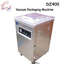 1 stück 220 V 1000 Watt Kommerziellen DZ400 304 edelstahl vertieft einkammer vakuum-verpackungsmaschine
