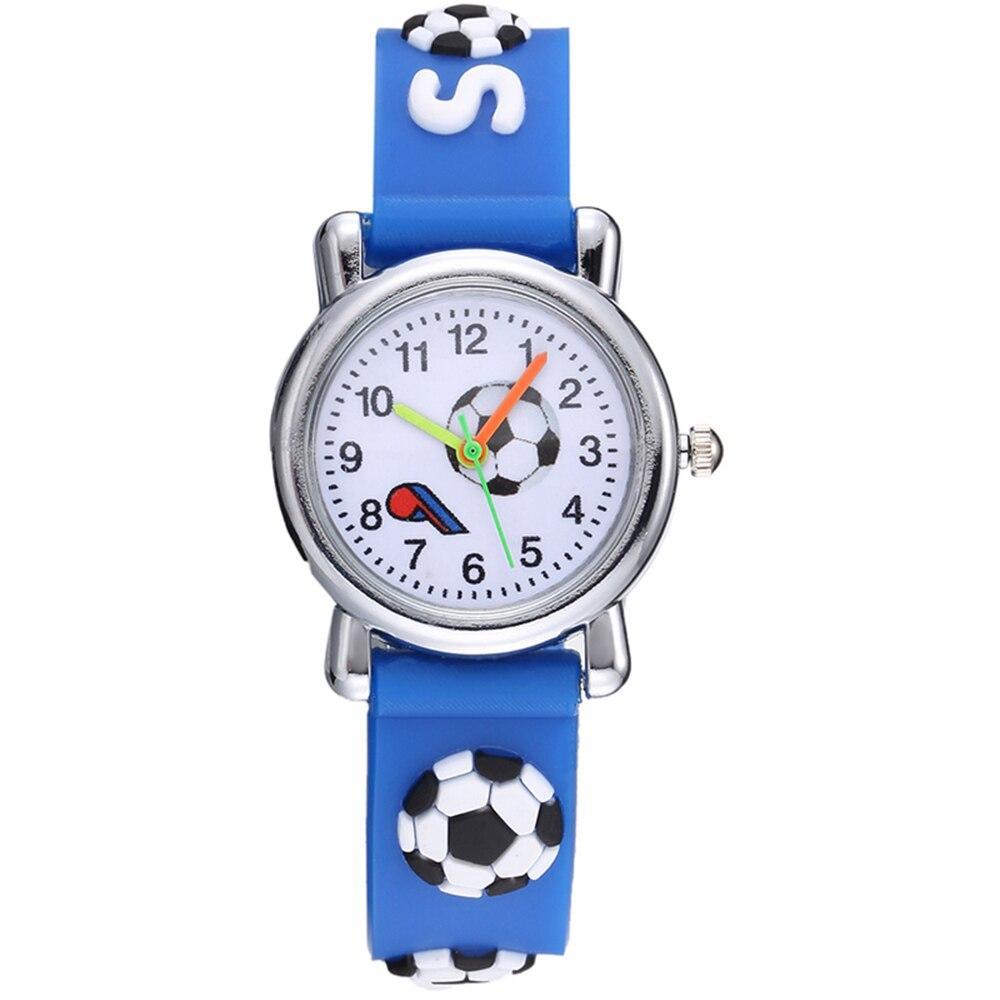 Детские часы, модные спортивные силиконовые 3D часы для мальчиков и девочек, 2019