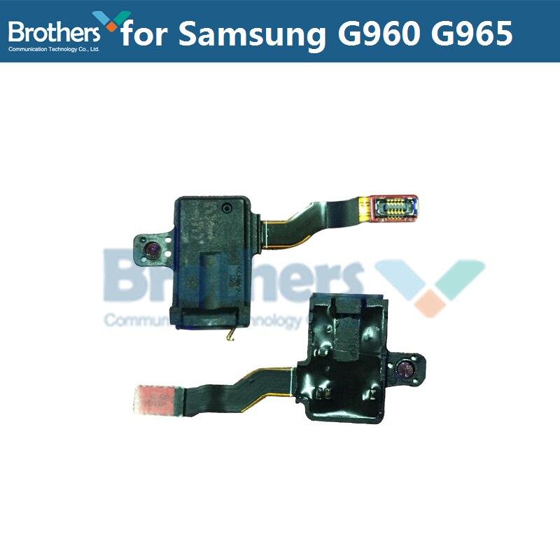 for Samsung Galaxy S9 G960 S9 Plus G965 Headphone Port Flex Cable for Samsung G960 G965 Audio Jack Flex Cable Earphone Test Top