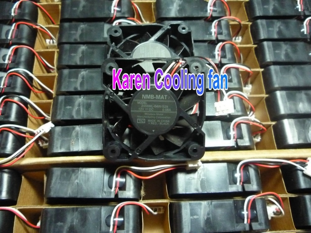 New Original NMB 5cm  2006ML-04W-S29  TA2 5015 12v 0.08a 3wire Cooling fan