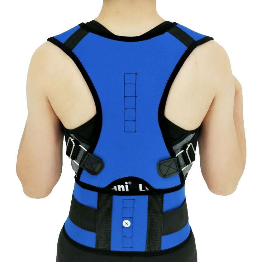 Women Men Corrector Postura Back-Support Bandage Shoulder Corset Back Support Posture Correction Bel