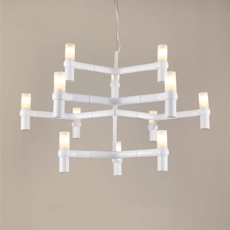 Vitrust Nordic Chandeliers Lighting Lampadari Kroonluchter luchters lampadario Modern Candle Crown Lamps led lustres para sala  - buy with discount