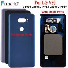 Voor LG V30 Back Cover Batterij Cover Deur Achter Glas Behuizing Case Voor LG V30 H930DS VS996 Batterij Cover + tools Vervangende Onderdelen