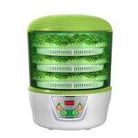 HIMOSKWA 3 Layer Multifunctional Vegetables Seedling Sprouts Machine 220V Automatic Intelligent Yogurt Maker Rice Wine Machine