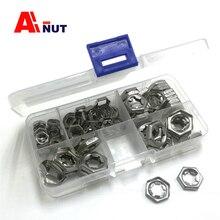 Kit décrous à verrouillage automatique m6 m8 m10 m12   Écrou à emboutir en acier inoxydable 304/316, attaches décrous DIN7967 pal, T0155 T0156