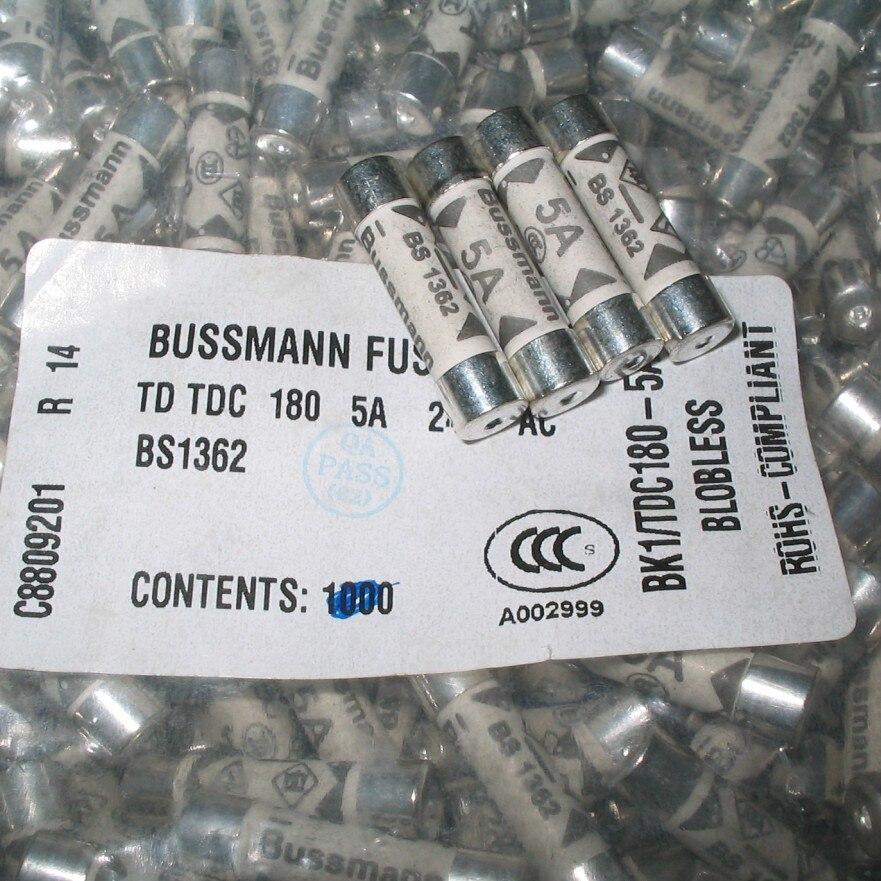 6*25mm pulgadas macho cerámica tubo portafusible 1A 2A 3A 5A 10A 13A 15A 20A 240V BS1362