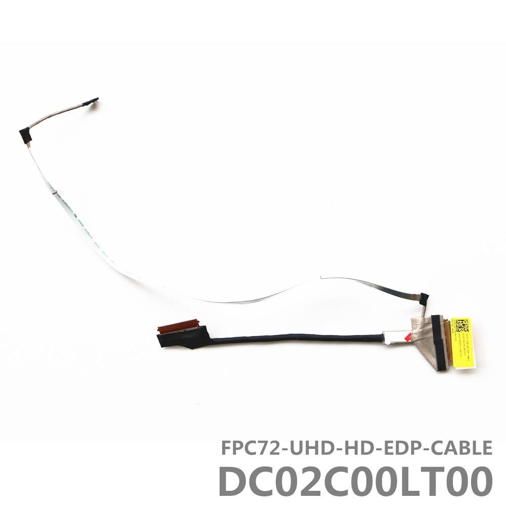 UHD FPC72 HD CABO DC02C00LT00 EDP LVDS LCD por CABO