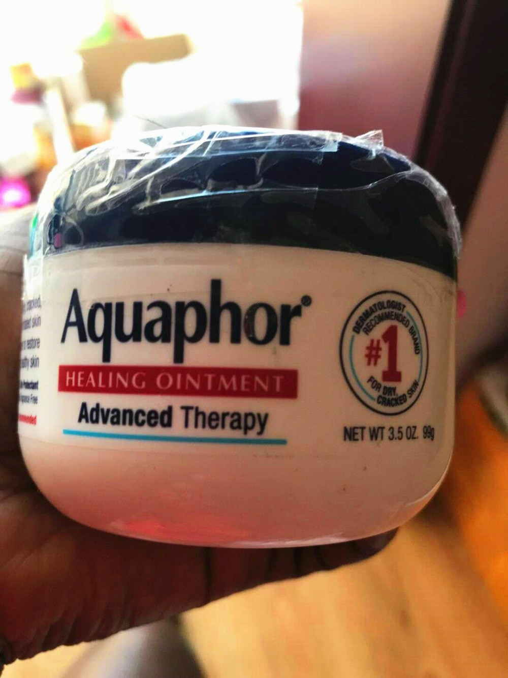 Aquaphor Advanced Therapy Healing Ointment Skin Protectant / 3.5oz
