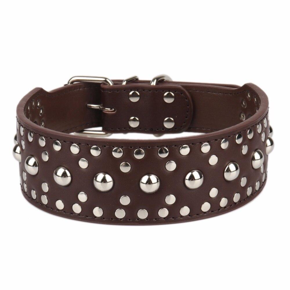 Echtes Leder EINE Große Hunde Halsbänder Tiere Zubehör Versetzt Liefert Für Große Hund Halskette Haustiere Produkt Kragen halsband hond