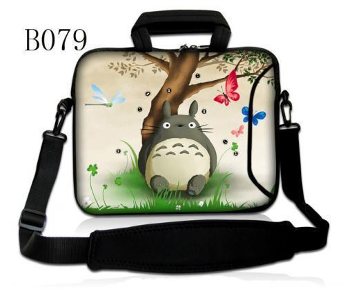 "Totoro 10 ""Bolsa de Ombro Laptop Sleeve Case Para 10.1"" samsung galaxy tab 2 3 4/ipad air 5/10. 1 ""microsoft surface 2 hp"