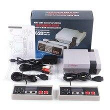 Mini NES AV sortie Mini TV ordinateur de poche rétro Console de jeu vidéo avec classique 620 jeux intégrés pour 4K TV PAL & NTSC