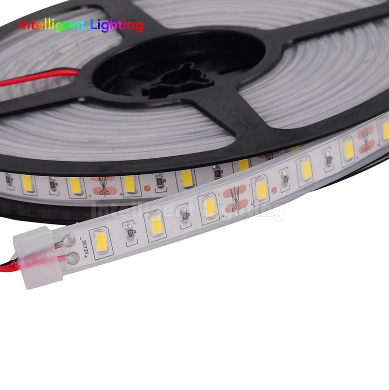 5m 60leds/m 5730 Flexible  LED Strip Light DC12V Waterproof IP67