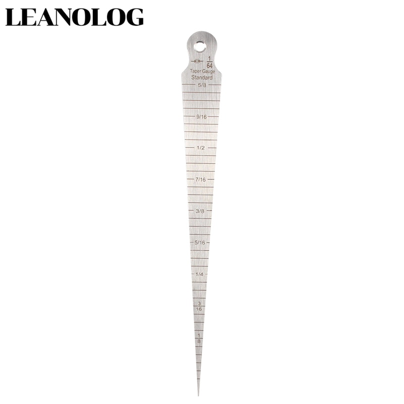 Professional Tools 1-15mm Welding Taper Gauge Stainless Steel Ruler Welding Inspection Taper Gauge Metric Imperial Measure Tool недорого