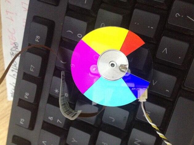 Rueda de color del proyector para BENQ MW519, 6 segmentos 42mm