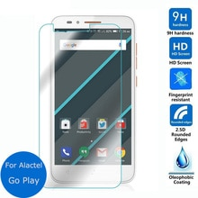 Para Alcatel One Touch ir a jugar Protector de pantalla de cristal templado de 2,5 9 h seguridad película protectora en onetouch 7048 X 4G LTE Verre guardia