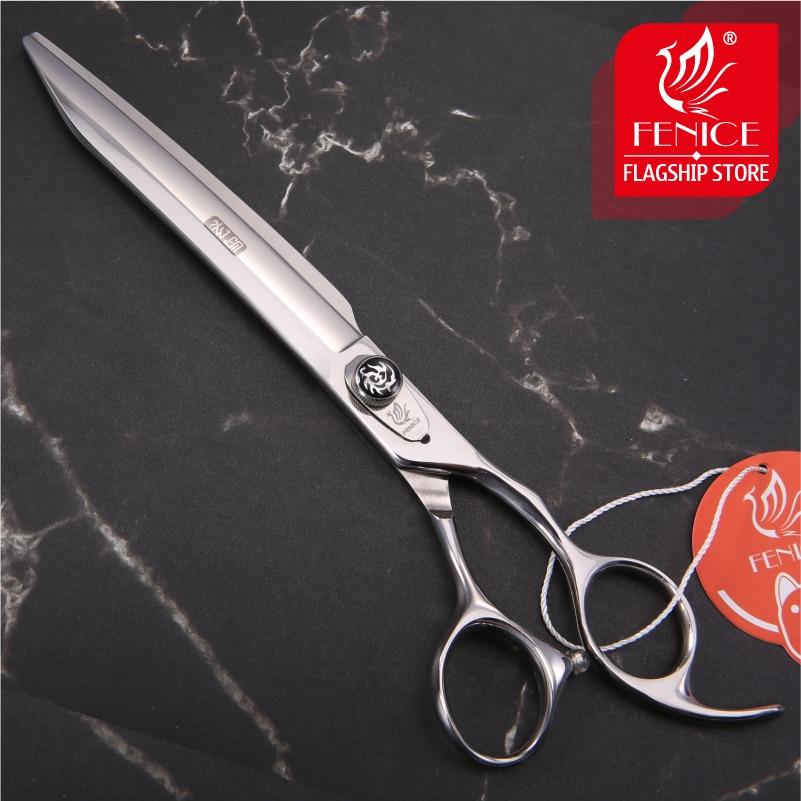 Fenice novo design 7.5/8/8.5 polegada de alta qualidade profissional para pet grooming cão corte tesoura reta
