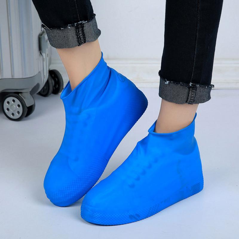 Открытый походный инструмент гаджеты водонепроницаемые унисекс обувь ботинки снаряжение противоскользящие многоразовые дождевые бахилы