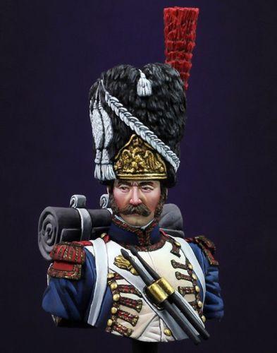 La Asamblea sin pintar escala 1/20 francés baterista Mini busto histórico juguete resina Kit de miniaturas de Modelismo