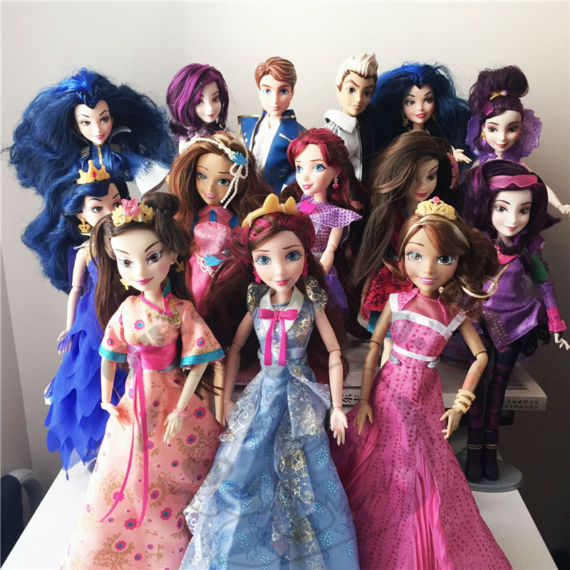 Action Figure Doll Descendants Coronation Doll Best Gift for Girl