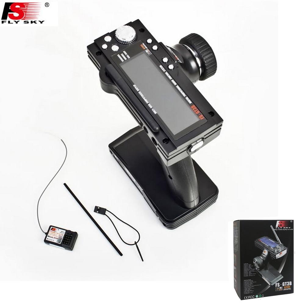 Радиоуправляемая система Flysky FS-GT3B FS GT3B, 2,4G, 3 канала, с приемником, светодиодный экран