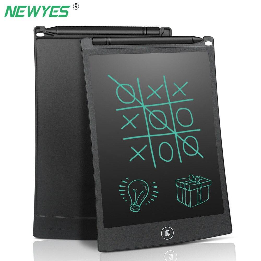 NEWYES 8,5 дюймов ЖК-цифровой планшет для письма, блокнот для рисования, электронный блокнот для рукописного ввода, графическая доска со стилусом, детская ручка подарок