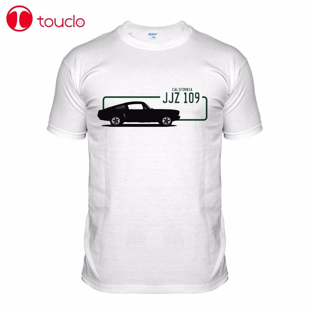 2019 nueva llegada marca-hombres Gt 390 Muscle Car camiseta 1968 American V8 película clásica Cool camiseta suéter
