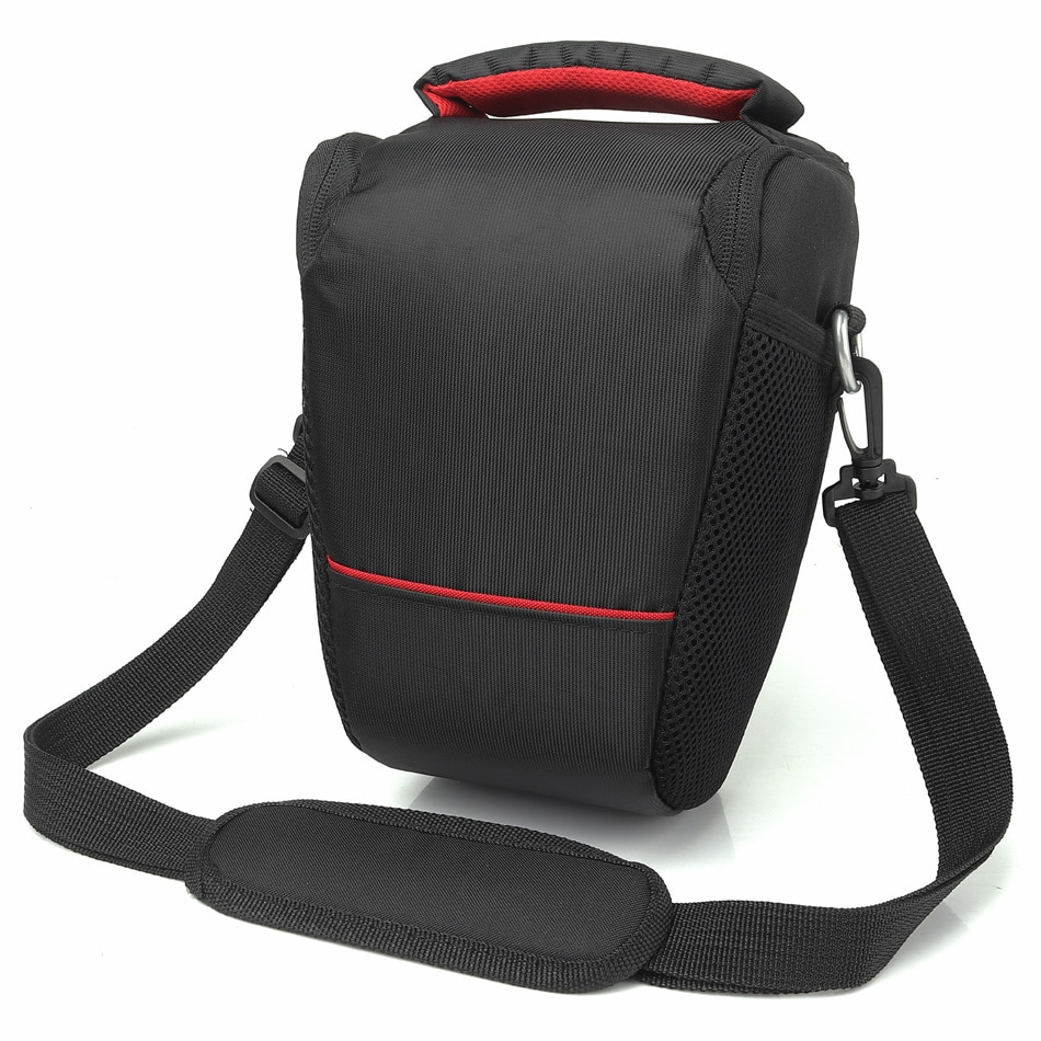 Bolsa para cámara DSLR para Nikon D3400 D3300 D5100 D5000 D80 750D D90 Sony A7 II RX10 III 2 A9 A6000 Canon 1300D 6D