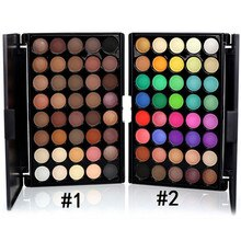 40 Colors Eyeshadow Palette Nude Makeup Shimmer Matte Glitter Pigment Smoky Eye Shadow Set Profissional Make up Eyeshadow
