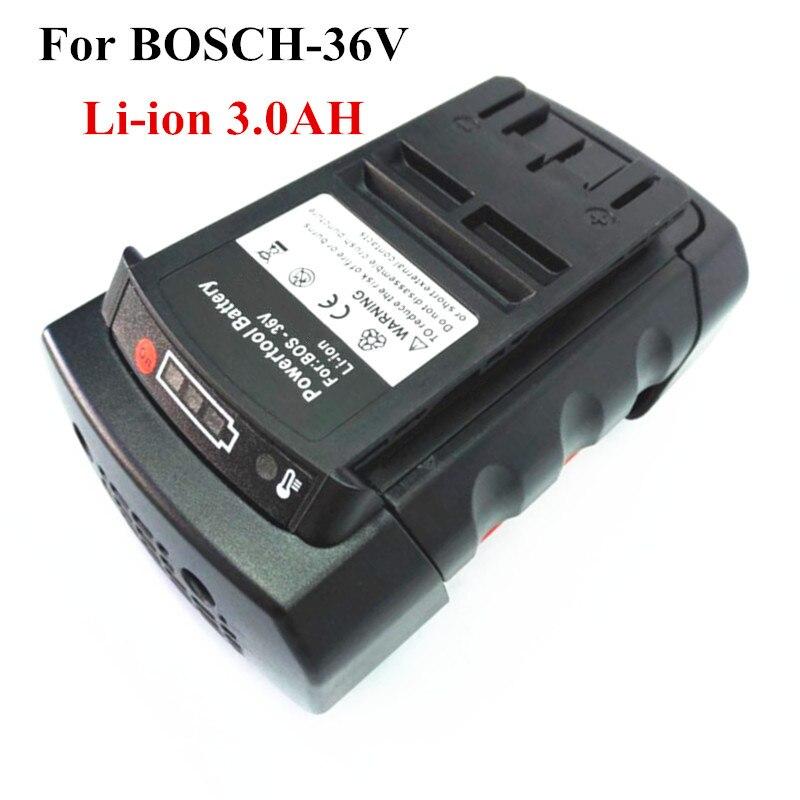 Литий-ионный аккумулятор 3,0 Ач для Bosch 36 в 3000 мАч 2 607 336 108 2 607 336 108 BAT810 BAT836 BAT840