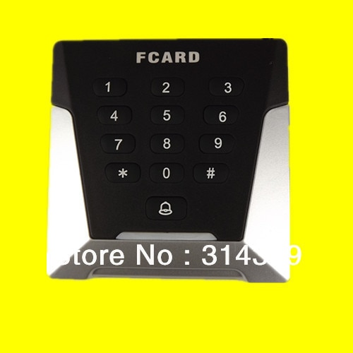 13,56 Mhz wiegand26/WG34 de doble LED V 9V 12V epoxi empaquetado de RF sin teclado código Mifare1 tarjeta IC KO a Caja lector
