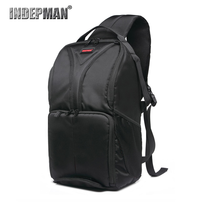 INDEPMAN Camera Sling Backpack Big Capacity DSLR Camera bag  For Canon Nikon Sony Fuji Olympus Shoulder Bag with tripod