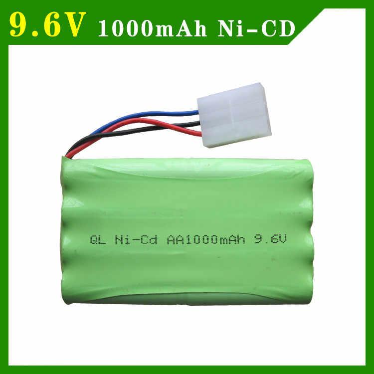 9 6v 1000mah Ni Cd Battery 8 X Aa 1 2v 1000mah Rechargeable Battery Pack Rc Car Boat Mz 2050 2054 2060 2053 2020 Ket 3p Plug Parts Accessories Aliexpress