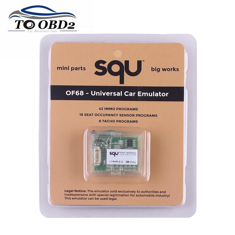 5 pçs/lote universal carro emulador mini peças grandes trabalhos squ of68 suporta multi-carros programas ecu immo sensor obd obdii emulador